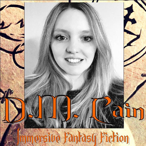 Immersive epic fantasy fiction author