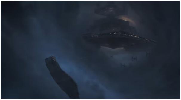 1 - Millennium Falcon star destroyer Star Wars Solo trailer