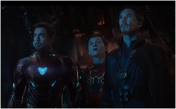 2 - Infinity war trailer review Iron Man Spiderman Doctor Strange
