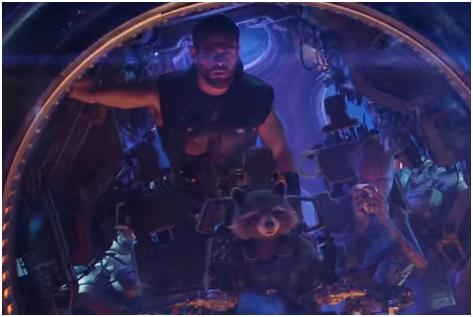 3 - Infinity war trailer review Thor Rocket Raccoon