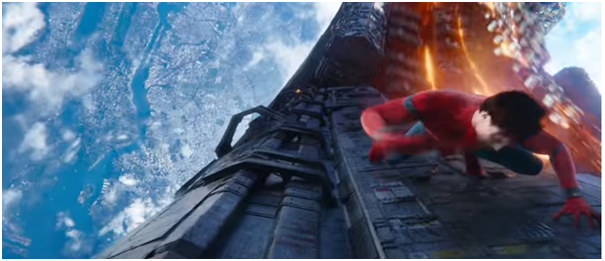 4 - Infinity war trailer review Spiderman
