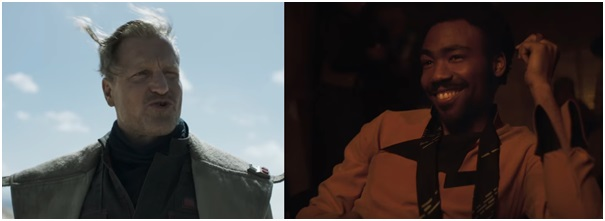 5 - Woody Harrelson and Donald Glover Star Wars Solo trailer