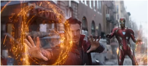 6 - Infinity war trailer review Doctor Strange and Iron Man