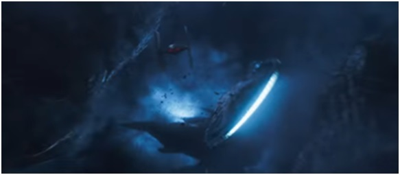 6 - Millennium Falcon shot Star Wars Solo trailer