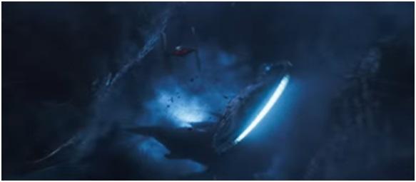 6 - Millennium Falcon shot Star Wars Solo trailer