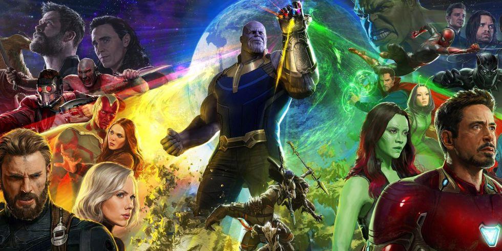 Marvel MCU Avengers Infinity War movie film dm cain immersive fantasy fiction