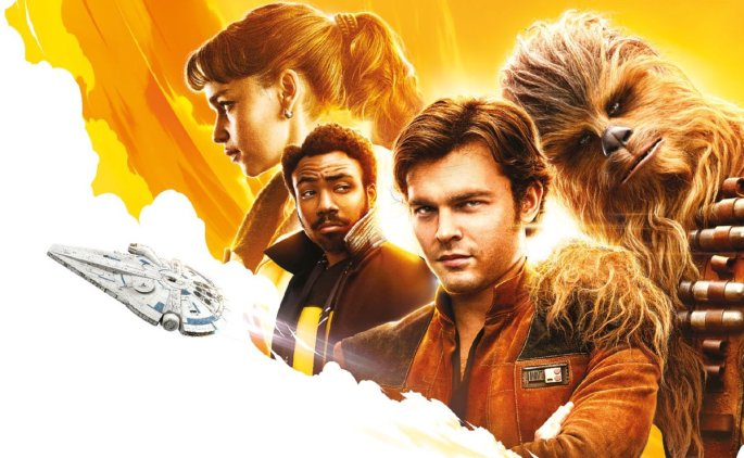 Han Solo movie film poster Star Wars dm cain immersive fantasy fiction