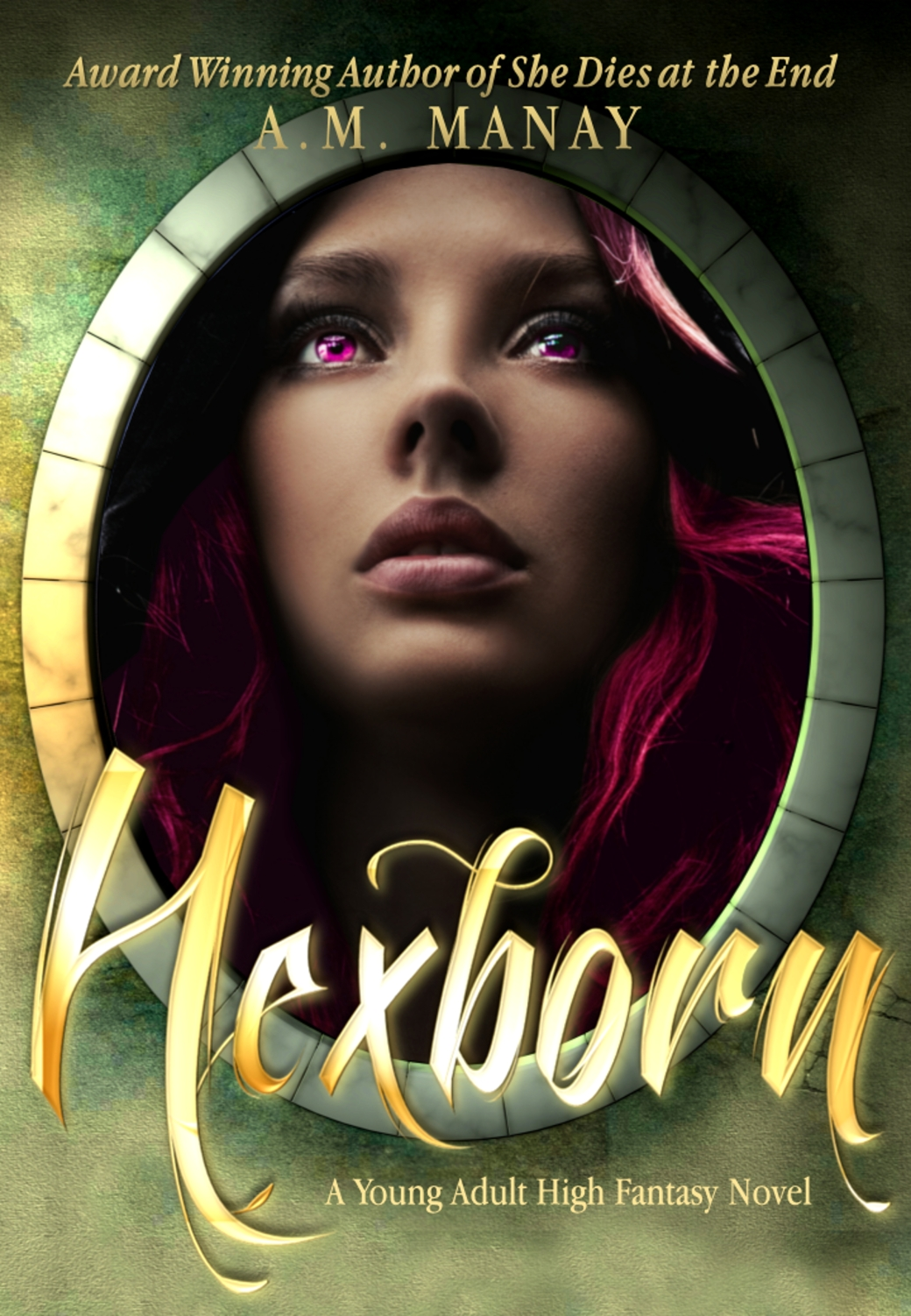 Hexborn A.M. Manay epic fantasy high fantasy young adult sword and sorcery