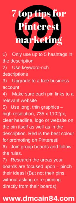 7 top tips for Pinterest marketing Pinterest