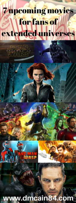 7 upcoming movies for fans of extended universes