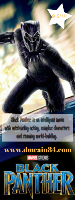 Black Panther review image - Pinterest