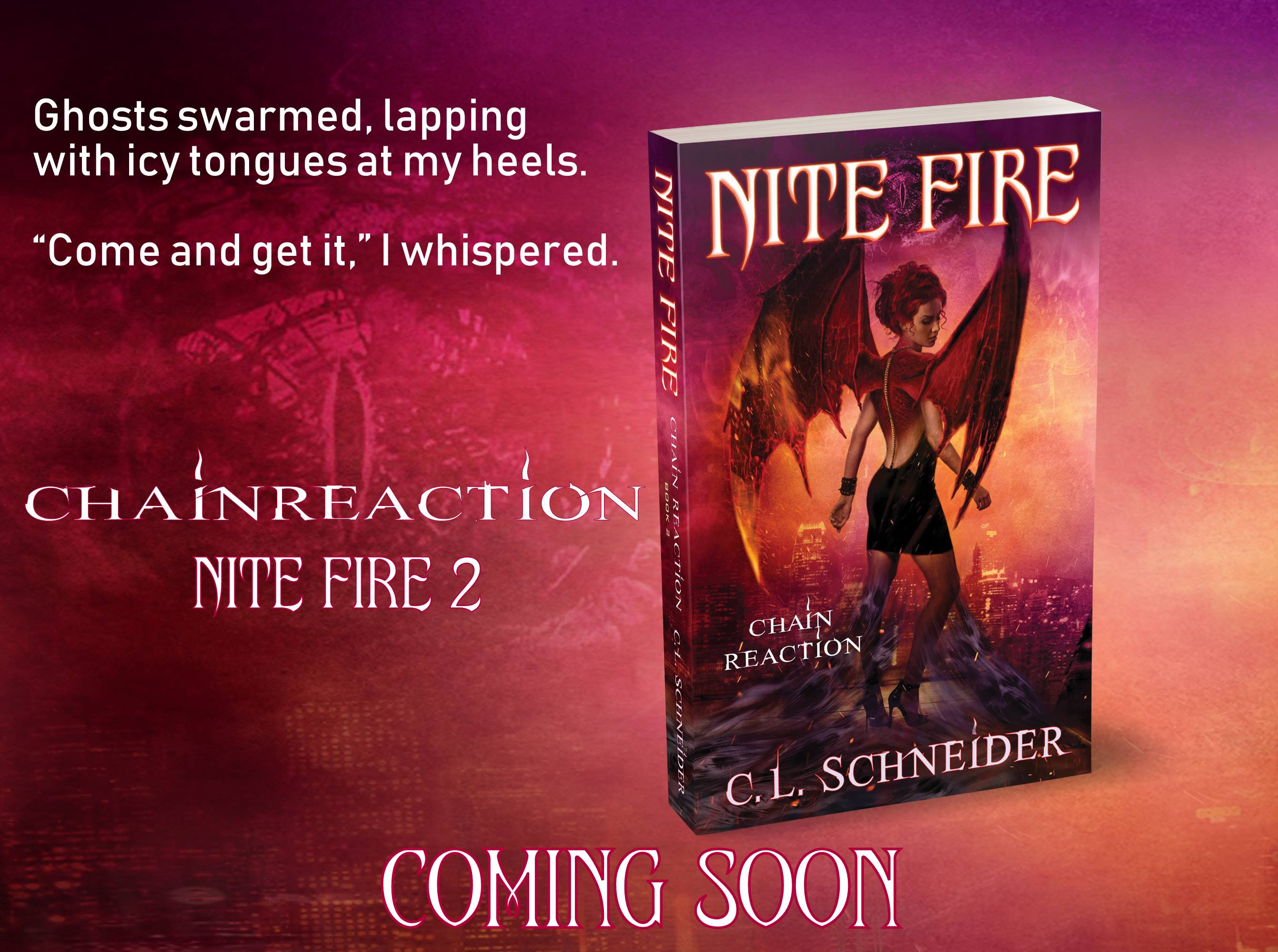 Nite Fire: Chain Reaction - epic urban fantasy dragon shapeshifters