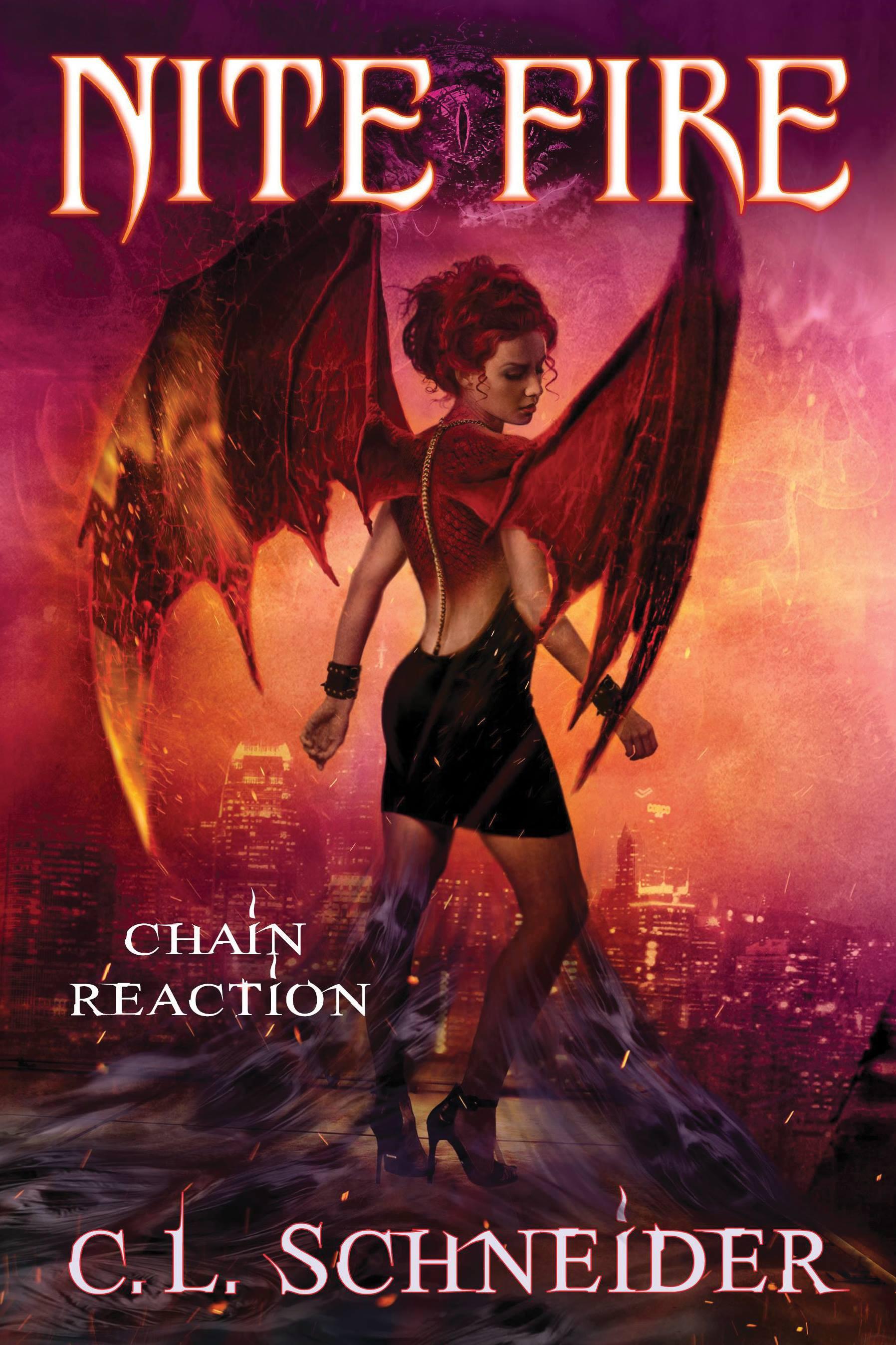 C.L.Schneider Nite Fie: Chain Reaction cover reveal urban fantasy