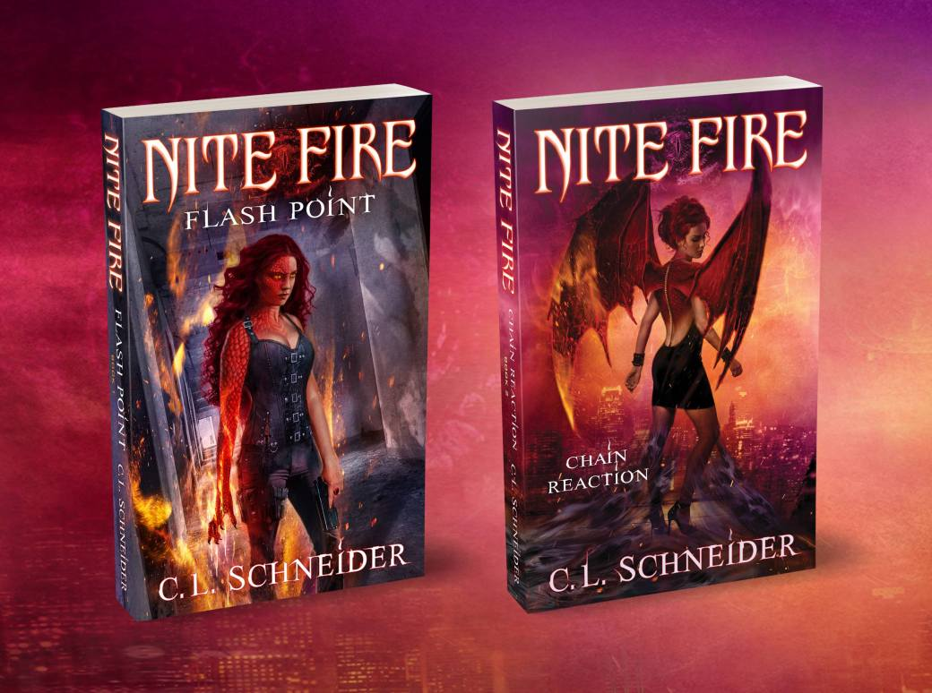 C.L.Schneider Nite Fie: Chain Reaction cover reveal urban fantasy