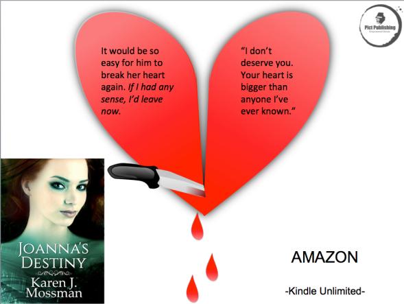Joanna's Destiny by Karen J Mossman