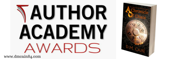 Author Academy Awards DM Cain