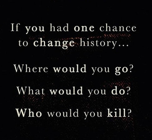 time and time again Ben Elton where would you go what would you do who would you kill