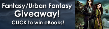 fantasy urban fantasy giveaway