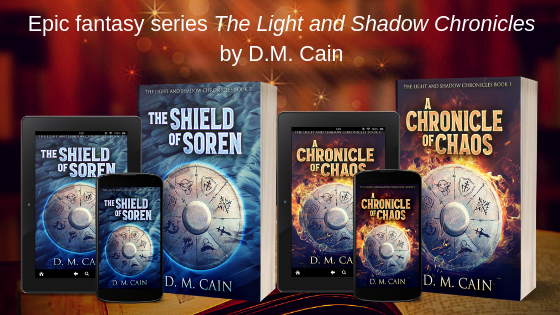 immersive fantasy series by D.M. Cain