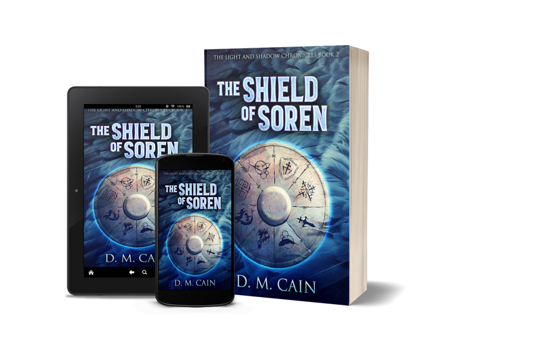 The Shield of Soren - fantasy covers