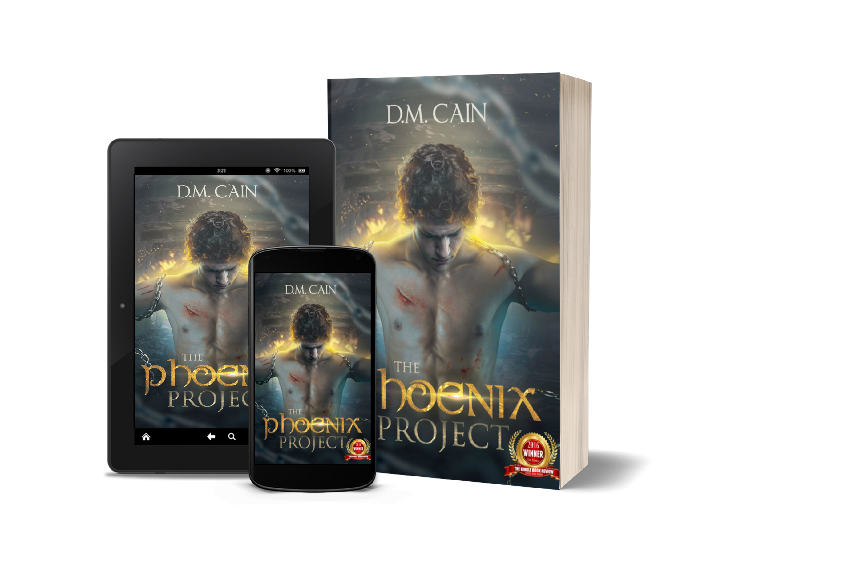 The Phoenix Project by D.M. Cain multiple formats image