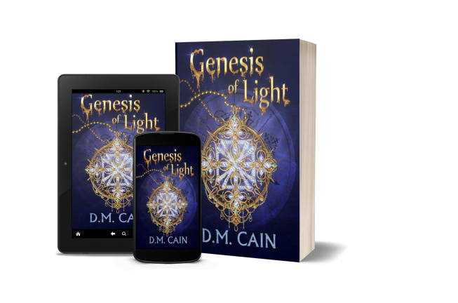 DM Cain Genesis of Light multiple promotional formats image