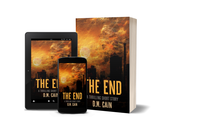 The End multiple formats promotional image
