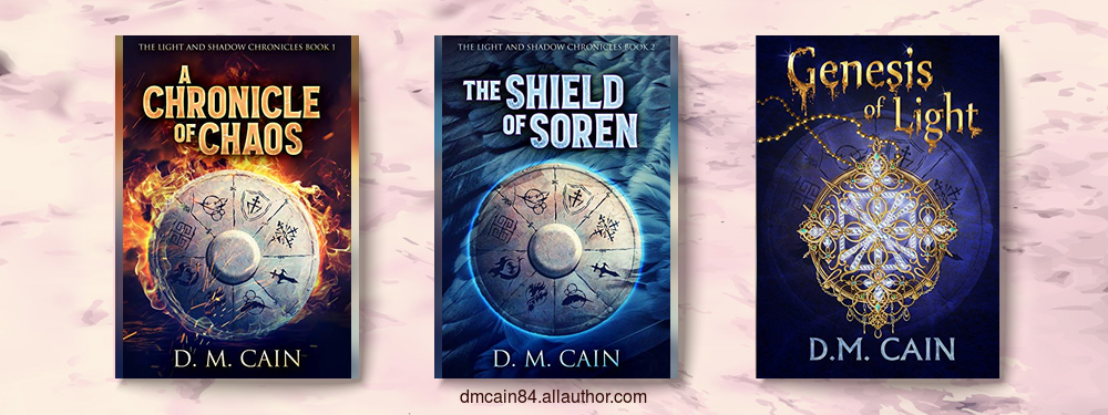 DM Cain fantasy series all three volumes together