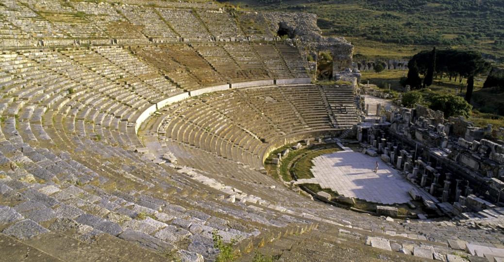 Worldbuilding - Meraxor rainforest amphitheatre