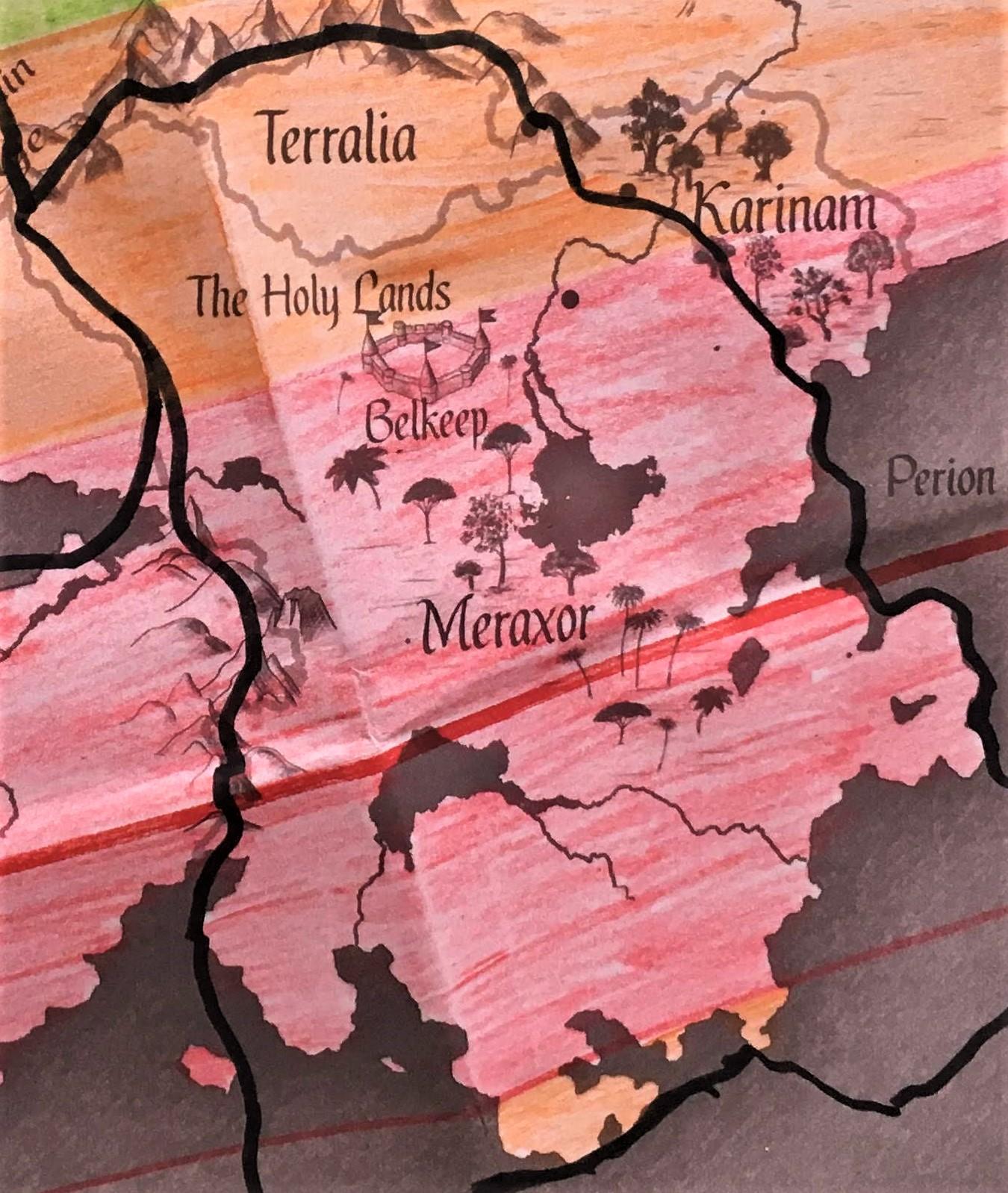 Worldbuilding: Meraxan climate map