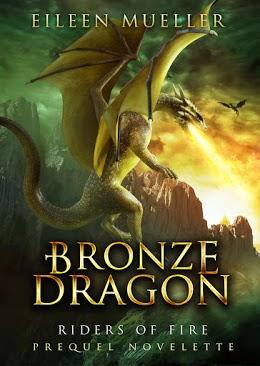 Bronze dragon by Eileen Mueller - free prequel novelette image