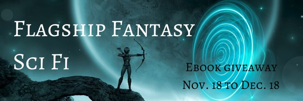 Flagship Fantasy Sci Fi ebook giveaway banner