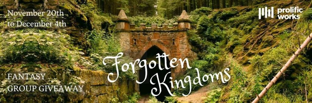 Forgotten Kingdoms fantasy giveaway banner